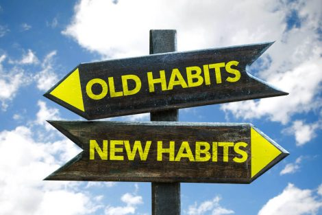 bad habits vs. new habits