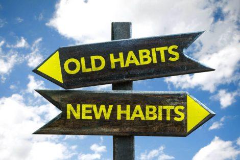 bad habits vs. new habits