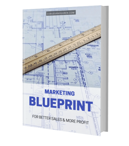 maketing blueprint cover
