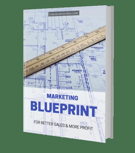 maketing blueprint cover